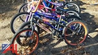 Assorted Children's Bicycles **Parts Only**
