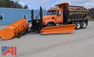 2007 Mack Granite CV713 Sander Truck & Plows
