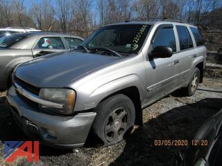 2003 Chevy Trailblazer SUV