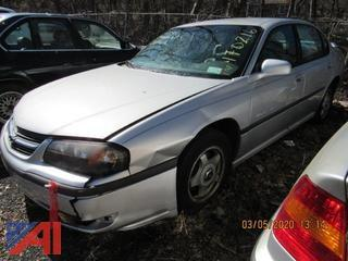 2001 Chevy Impala 4 Door Sedan