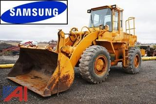 1998 Samsung SL150 Articulated Wheel Loader