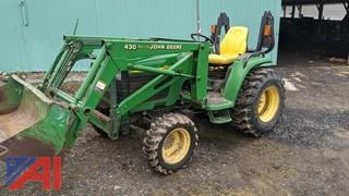 2003 John Deere 4310 4WD Tractor & Loader
