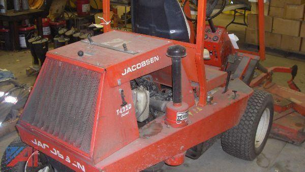 Jacobsen T422d manual on