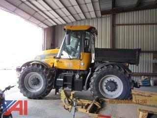 2002 JCB 3185 Power Shovel with Snow Blower Attachment