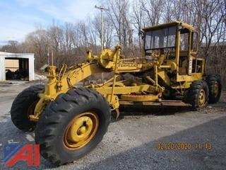 1969 Caterpillar 120 Road Grader