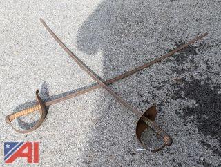 Practice Dueling Saber Swords