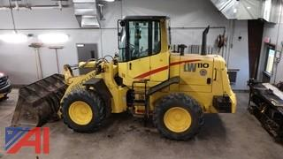 2001 New Holland LW110 Front Bucket Loader