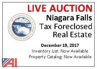 Niagara Falls Tax Foreclosed Real Estate
