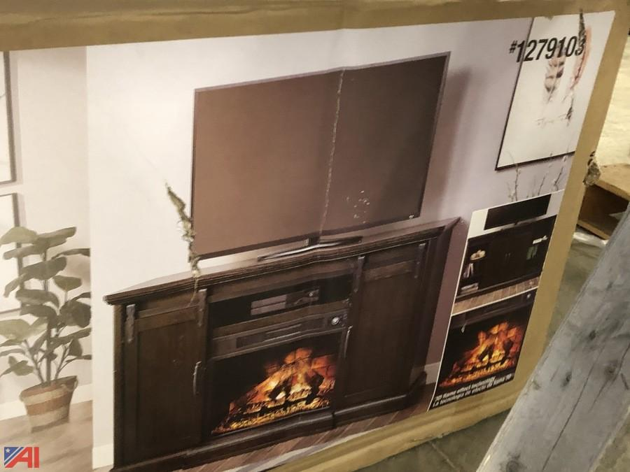 Auctions International Auction Lowes Liquidation Auction 1 Ny 21290 Item Electric Fireplace