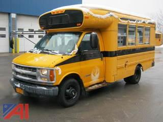 2002 Chevy Express G3500 School Bus