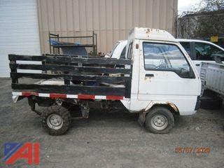 Mitsubishi Mini Stake Truck