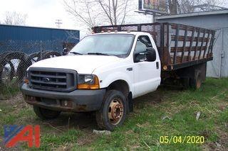 1999 Ford F550 Stake Truck