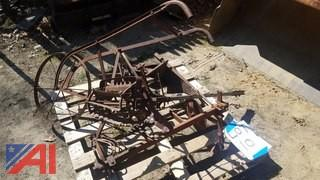 Assorted Antique Farm Attachments