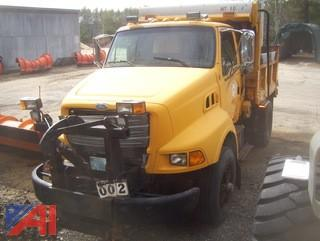 1997 Ford L8000 Dump/Sander Truck with Plow
