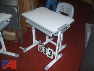 VIV Adjustable Desks and Chairs