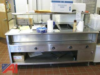 Stainless Steel Food Service Line