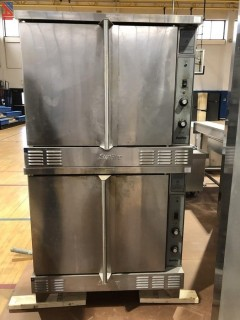 Manitowoc SCO-ES-10S SunFire Double Full Size Electric Convection Oven