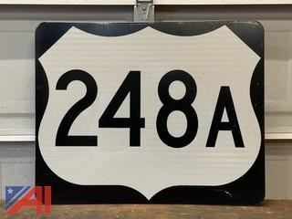 248A Road Sign