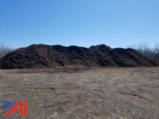 1,000 Cubic Yards of Double Ground Mulch