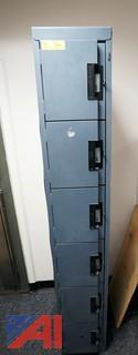 Edsal 6 Door Foot Locker