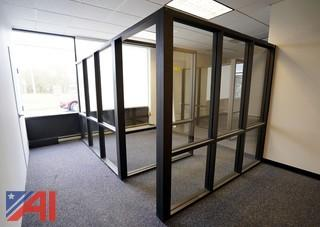 Aluminum & Glass Office Wall Partitions
