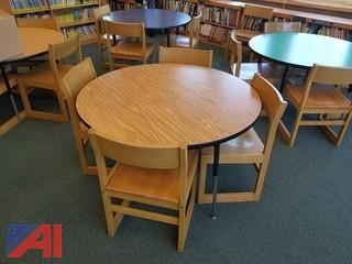 Various Sizes and Types of  Student Chairs