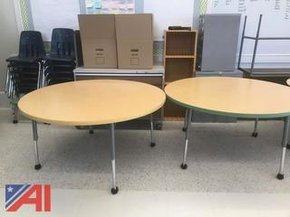 Various Size Round Tables