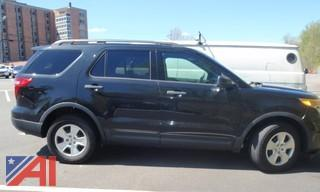 #13 2014 Ford Explorer SUV