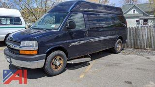 2007 Chevy Express 3500 Wheelchair Van