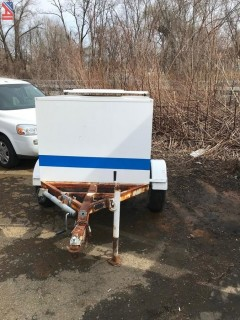 1997 Smart 5699 Speed Monitoring Awareness Radar Trailer