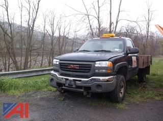 2003 GMC Sierra 2500HD Truck with Wooden Bed