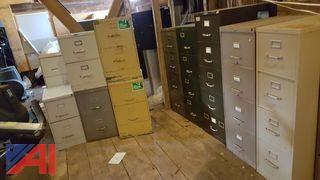 Large Lot of Filing Cabinets
