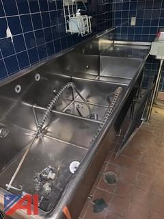 3 Bay Stainless Sink