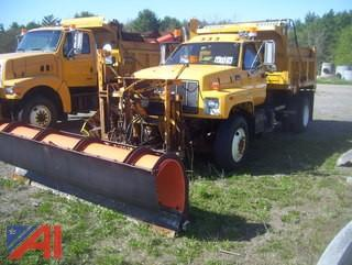 2000 GMC C8500 Dump Truck with Plow and Wing
