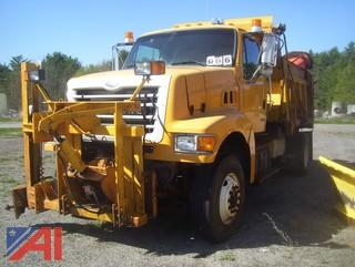 2003 Sterling L8500 Dump Truck with Plow/Wing and Spreader