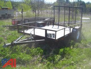 2004 Ideal TAG A Long Trailer with Ramp