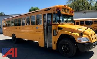 2013 Blue Bird Vision School Bus with Wheelchair Lift