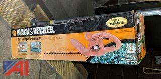 "Black & Decker 17"" Hedge Trimmers"