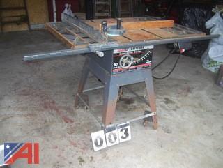"Sears Craftsman 10"" Table Saw"