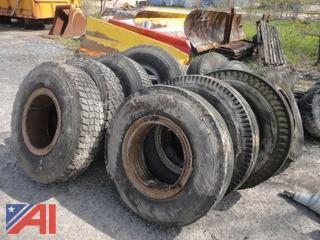 Mixed Truck Tire Assortment