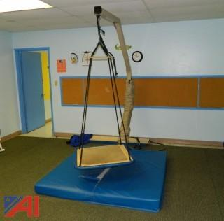 C-Stand & Linear Motion Bar Therapy Swing Suspension System