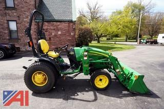 2009 John Deere 2720 Compact Utility Tractor Loader
