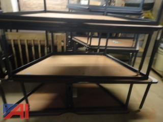 Trapezoid 6' Work Tables