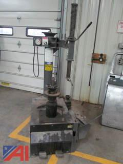 Signature Tire Changer and Pallet of Misc Tools