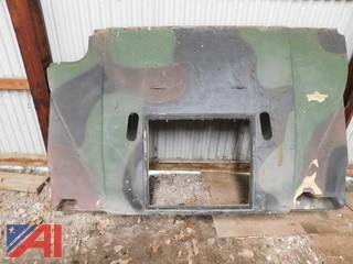 Hood for HMMWV M998 Military Style Truck