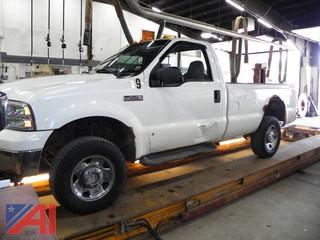 2005 Ford F250 Super Duty Pickup Truck