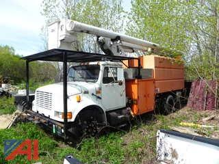 2002 International 4700 55' Aerial Bucket Truck