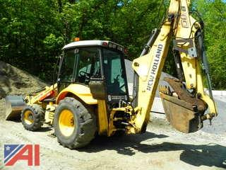 2007 New Holland B110 Backhoe Loader