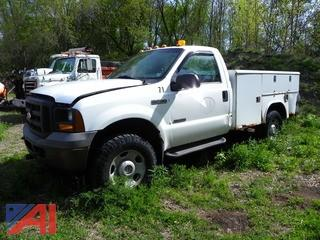 2005 Ford F350 Super Duty Utility Truck
