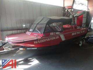 Polar Sportsman 1KT01A00 Air Boat with Trailer